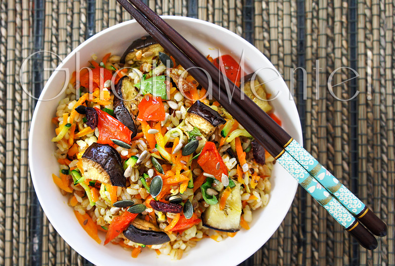 Vegetariana disegno cucina - Una vegetariana in cucina ...