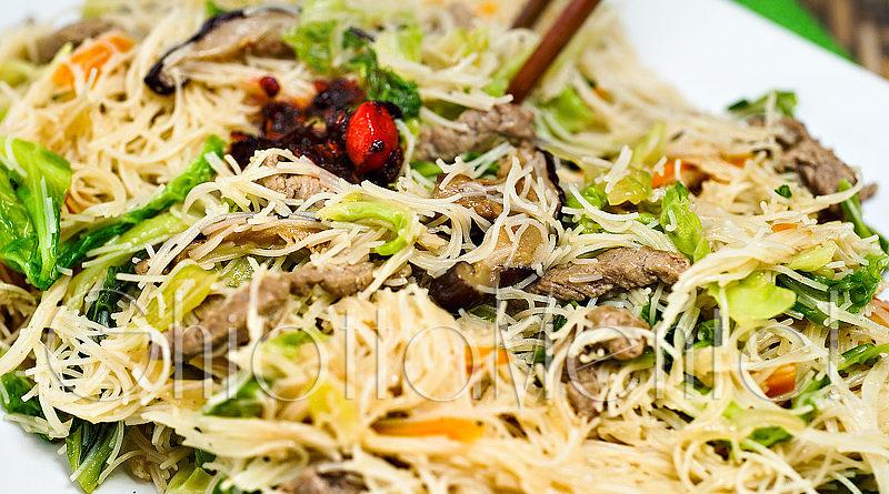 Spaghetti di riso ghiottamente for Ricette asiatiche
