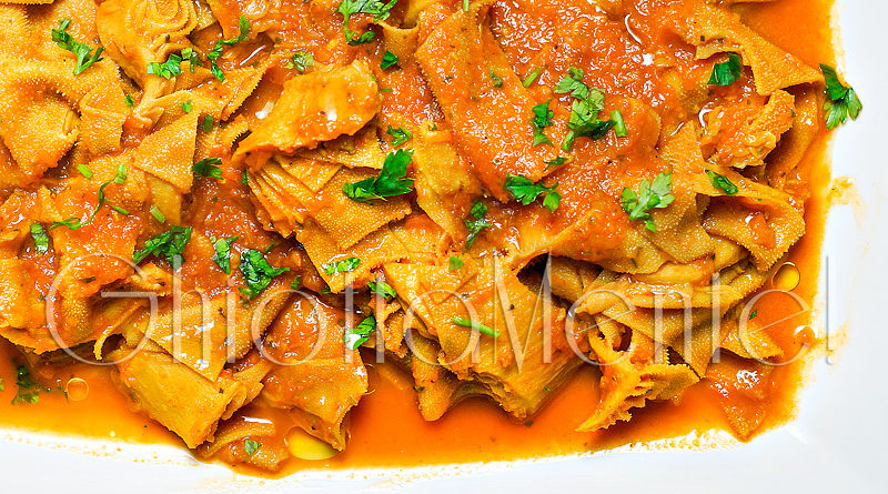 Trippa in umido con zucca e verza da ricetta asiatica for Ricette asiatiche